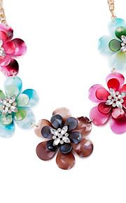 Modische Halsketten Schmuck Hochzeit / Party / Alltag / Normal Einzigartiges Design / Blumen Stil / Anhänger Stil / Euramerican Aleación