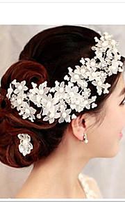 Women's Crystal Headpiece-Wedding / Special Occasion Flowers 1 Piece