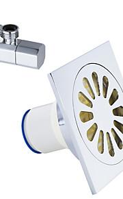 Tilbehørssett til badeværelset / Krom0.8 /Messing /Moderne /12 11 0.6