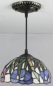 25W Hängande lampor ,  Tiffany / Vintage Målning Särdrag for Ministil Metall Bedroom / Kök