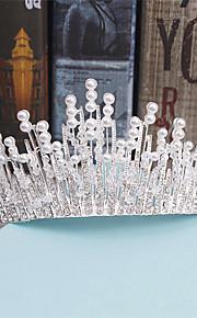 Women's Rhinestone / Alloy / Imitation Pearl Headpiece-Wedding / Special Occasion / Casual Tiaras 3 Pieces