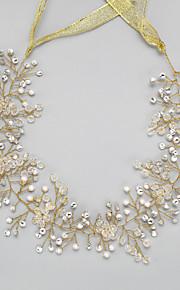 Femme Strass / Cristal / Imitation de perle Casque-Mariage / Occasion spéciale Serre-tête 1 Pièce