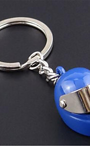 Motorcycle Helmet Key Chain