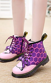 Girl's Boots Others Leatherette Casual Black Green Purple