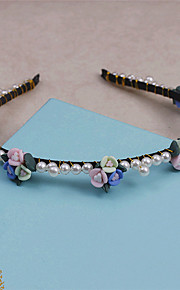 Women's Rhinestone / Imitation Pearl / Fabric Headpiece-Wedding / Special Occasion / Casual Headbands 1 Piece