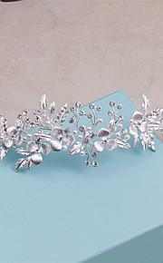 Women's Rhinestone Headpiece-Wedding / Special Occasion / Casual Tiaras 1 Piece