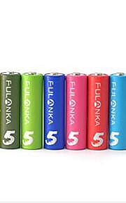 franke 8 tank niet. 5 aa ni mh oplaadbare batterij intelligente accu ktv regenboog 8 batterijen