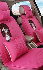 Car Cushion Female Cute Linen Four Seasons GM