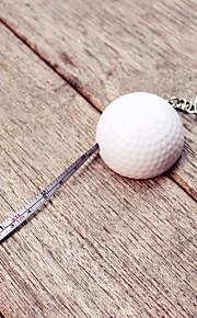 1pcs LPGA Golf Ball tape measure keychain Party Keepsakes