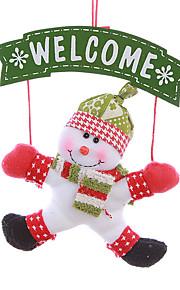 juledekorasjoner stor snømann