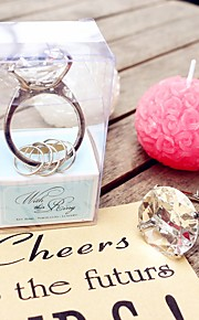 With This Ring Engagement Ring Keychain in Gift Box Wedding Favors