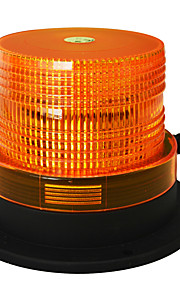 Jiawen 5 inch magneet om flitslicht te trekken geleid amber flash waarschuwingslampje noodverlichting DC 12V waterdicht