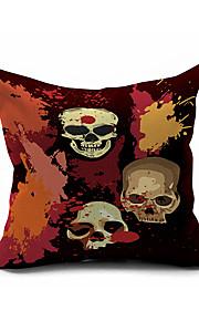 Halloween Throw Case Cotton Linen Decorative 2 Sides Printing Modern Contemporary Pillow Cover