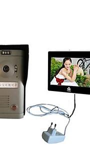 800*480 120 CMOS Dørklokke System Tilkoblet Flerfamiliehuse video dørklokken
