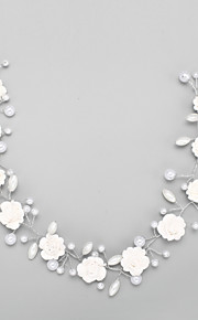 Women's Crystal Alloy Imitation Pearl Headpiece-Wedding Special Occasion Headbands 1 Piece
