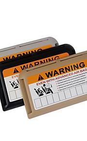 ziqiao zonneklep clip organisator high-speed ic card clip multifunctionele tijdelijk parkeren telefoonnummer parkeerplaats kaarthouder