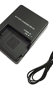 EL14 batterijlader en eu-lader kabel voor Nikon EN-EL14 p7700 D3100 D3200 D5300 en-EL14 el14a