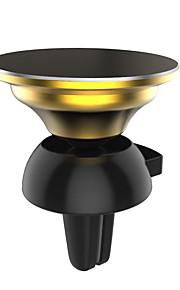 lebosh ikke magnetisk micro slamsuger mobiltelefon support bil klimaanlægget port sort