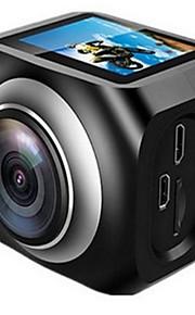 YS-360VR Actiecamera / Sportcamera 20MP 4608 x 3456 WIFI / Verstelbaar / Draadloos / Groothoek 30fps Neen ± 2EV Neen CMOS 32 GB H.264