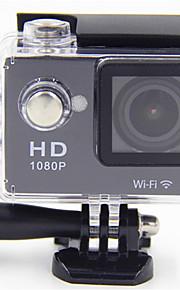 N9 Actiecamera / Sportcamera 20MP 4608 x 3456 WIFI / Verstelbaar / Draadloos / Groothoek 30fps Neen ± 2EV Neen CMOS 32 GB H.264Enkele
