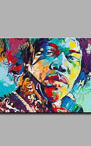 手描きの 抽象画 抽象的な肖像画 油彩画,Modern クラシック 1枚 キャンバス ハング塗装油絵 For ホームデコレーション