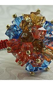 Rectangular Estampado / Geométrica / Día Festivo Anillo de Servilletas , Legierung MaterialHotel Dining Tabla / Decoración del banquete