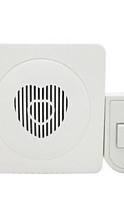 Plastik Ikke-visuelle doorbell Tilkoblet dørklokken Systems