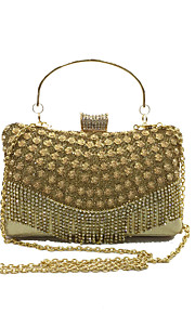 Women PU Formal / Event/Party / Wedding Evening Bag/Diamond Tassel Clutch/Handbag/Purse