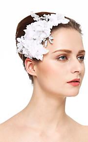 Damen Strass Kristall Künstliche Perle Chiffon Kopfschmuck-Hochzeit Besondere Anlässe Haarkämme Blumen 1 Stück