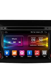 Ownice c500 HD-scherm 1024 * 600 met 16 GB rom android 6.0 quad core auto dvd speler gps-radio voor fiat bravo 2007-2012 ondersteuning 4G