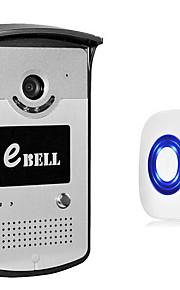 1.0 125 CMOS Dørklokke System Trådløs Flerfamiliehuse video dørklokken
