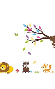 ZOOYOO® Lovely Animals Removable Wall Stickers Window Sticker Art Decals Mural DIY Wallpaper for Room Decal