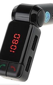 BC06 vivavoce bluetooth mp3 player trasmettitore fm caricatore per auto