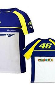 VR46 vestiti moto maniche corte in cotone T-shirt unisex traspirante estate