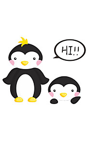 Wall Stickers Wall Decals Style Cute Penguin Switch PVC Wall Stickers