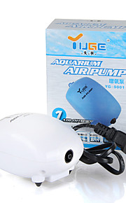 Acuarios Bombas de aire Ahorro de Energía Silencioso Plástico 220V