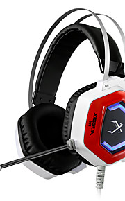 xiberia v11 spel oortelefoon LED verlichting stereo hoofdband gloeiende pc gamer hoofdtelefoon super bass 7.1 usb trillingen hoofdtelefoon