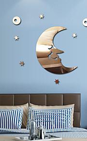 Specchi Forma Astratto Adesivi murali Adesivi con strass da parete Adesivi  a parete specchio Adesivi decorativi da parete,Vinile