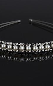 Rhinestone Imitation Pearl Headpiece-Wedding Special Occasion Casual Headbands 1 Piece