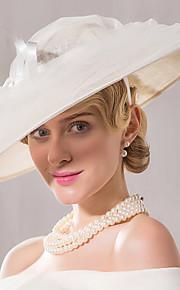 Flax Net Headpiece-Wedding Special Occasion Casual Fascinators Hats 1 Piece