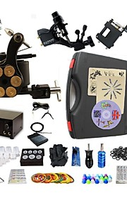Complete Tattoo Whirlwind III 3 Machines With Digital Power Supply  Liner & Shader Inks