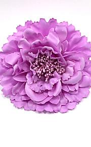 """פרחי חתונה עגול ורדים פרחי אדמוניות פרחי דש חתונה פוליאסטר 5.12""""(לערך.13ס""""מ)"""