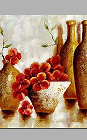 Peint à la main Paysage A fleurs/Botanique Panoramique Horizontale,Moderne Classique Un Panneau Toile Peinture à l'huile Hang-peint For