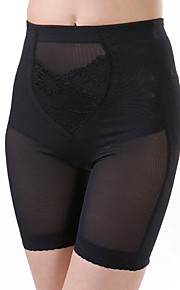Women's Sexy Lace Maternity Postpartum Slimming Corset High Waist Elasticity Nylon Black Shaping Panties