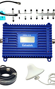 Lintratek Cell Booster GSM 1900MHz UMTS1900 Cell Phone Amplifier Yagi 3G Repeater LCD Cell Phone Signal Booster Kit For AT&T/MTS/Bell Mobility/Telcel