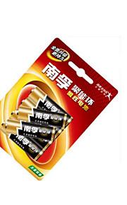 Nanfu lr6aa poly-energie ring 5 alkaline batterijen 6 batterijen