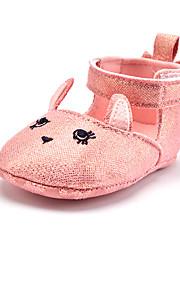 Enfants-Mariage Extérieure Habillé Décontracté Soirée & Evénement-Rose-Talon Plat-Premières Chaussures-Ballerines-Paillette Tissu