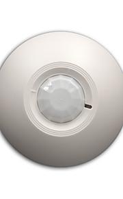 12v allarme rilevatore di movimento pir cablato infrarossi sensore 360 di rivelazione gradi ceilling montato relè installazione no.nc