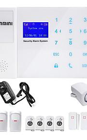 Danmini touch key gsm wireless home telefono automatico sms sistema di allarme controllo del telefono cellulare