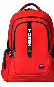 Hosen hs-150 15-tommer computer bærbar taske vandtæt stødtæt åndbar nylon skulder taske til ipad / notebook / ablet pc
